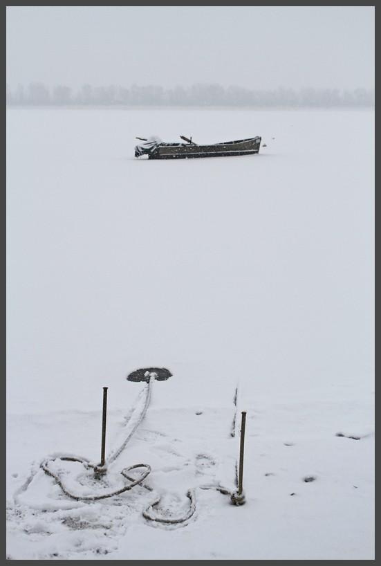 The Frozen boat