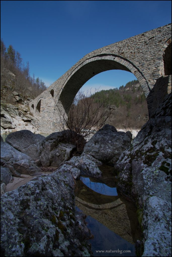 Devil's bridge, Rhodope mountain
